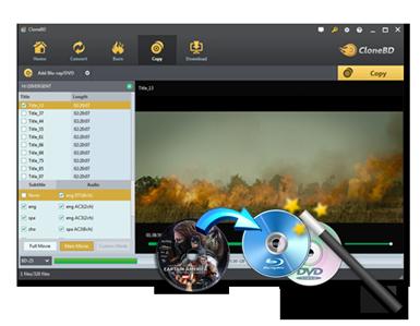Blu-ray Copy -- CloneBD Blu-ray Copy - Blu-ray copy software
